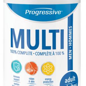 Progressive 3101 Multi for Adult Men 120 Capsules Canada