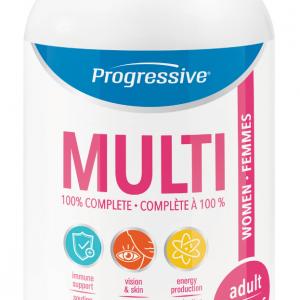 Progressive 3102 Multi for Adult Women 60 Capsules Canada