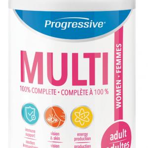 Progressive 3103 Multi for Adult Women 120 Capsules Canada