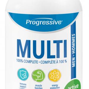 Progressive 3108 MultiVitamin for Active Men 60 Tablets Canada