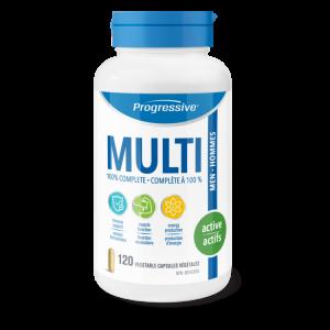 Progressive 3109 MultiVitamin for Active Men 120 Tablets Canada