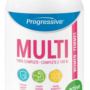 Progressive 3110 Multivitamin for Active Women 60 Capsules Canada