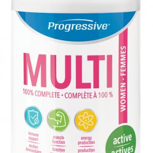 Progressive 3111 Multivitamin for Active Women 120 Capsules Canada
