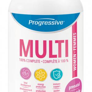Progressive 3160 Prenatal Multivitamin 60 Capsules Canada
