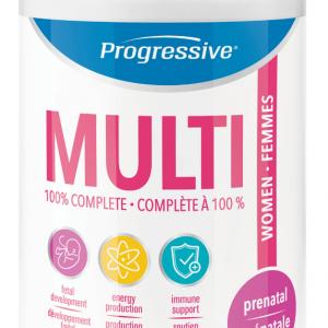 Progressive 3161 Prenatal Multivitamin 120 Capsules Canada