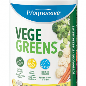 Progressive 3295 VegeGreens Pineapple Coconut 265 g powder Canada