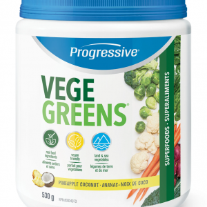 Progressive 3296 VegeGreens Pineapple Coconut 530 g powder Canada