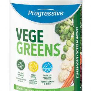 Progressive 3300 VegeGreens Original Flavour 255 g powder Canada