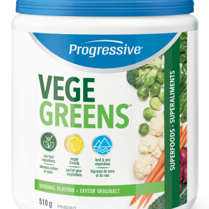 Progressive 3301 VegeGreens Original Flavour 510 g powder Canada