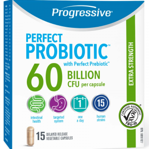 Progressive 3352 Perfect Probiotic 60 Billion 15 Capsules Canada