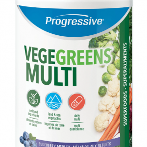 Progressive 3360 VegeGreens Multi Blueberry Medley Flavour 250 g powder Canada