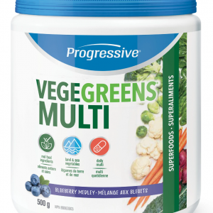 Progressive 3361 VegeGreens Multi Blueberry Medley Flavour 500 g powder Canada