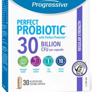 Progressive 3363 Perfect Probiotic 30 Billion 30 Capsules Canada