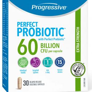 Progressive 3364 Perfect Probiotic 60 Billion 30 Capsules Canada