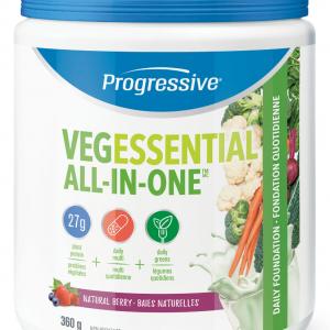 Progressive 3382 VegEssential Berry 360 g Powder Canada