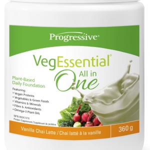 Progressive 3384 VegEssential Vanilla Chai 360 g Powder Canada