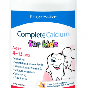 Progressive 3403 Complete Calcium for Kids 120 Chewable Tablets Canada