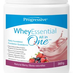 Progressive 3452 Whey Essential Berry Flavour 360 g powder Canada