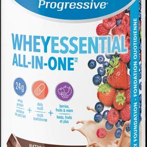 Progressive 3455 Whey Essential Chocolate Flavour 840 g powder Canada