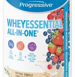 Progressive 3456 Whey Essential Vanilla Flavour 840 g powder Canada