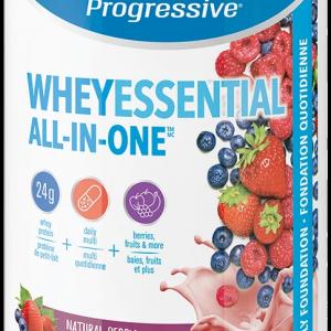 Progressive 3457 Whey Essential Berry Flavour 840 g powder Canada