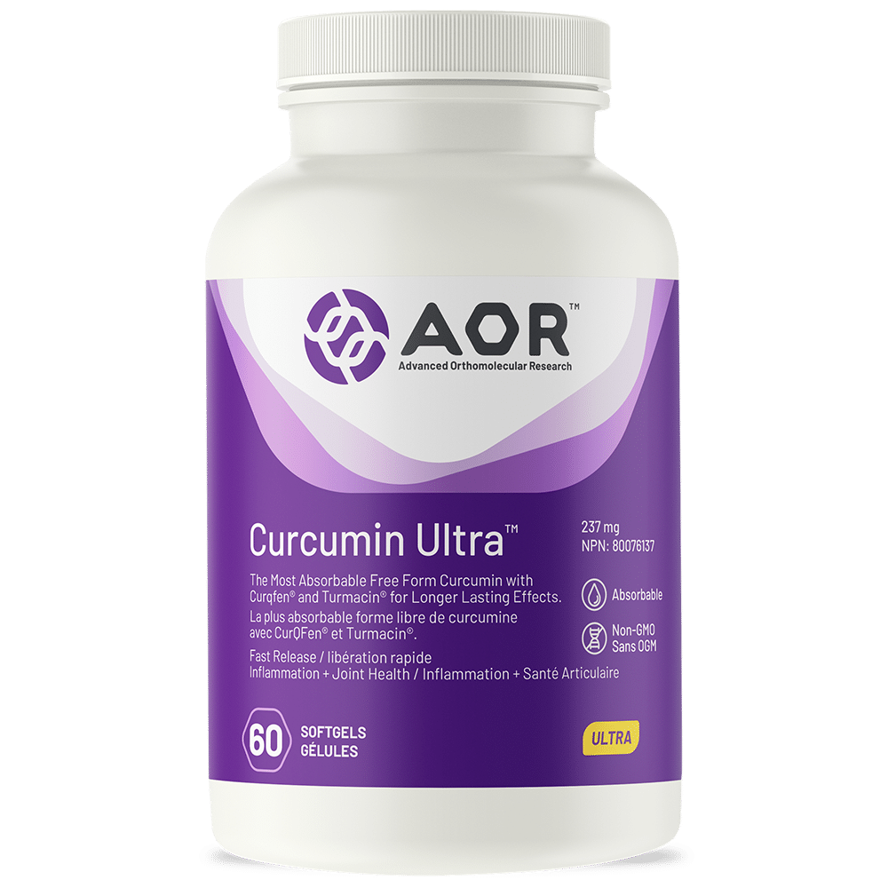 AOR Curcumin Ultra™ 60 Softgels | InnerGood.ca | Canada