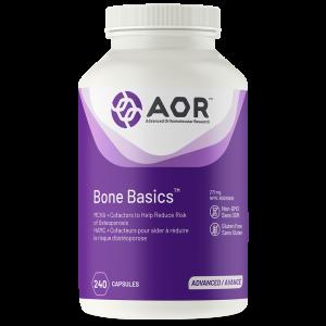 AOR Bone Basics™ 240 Capsules | InnerGood.ca | Canada