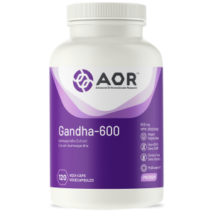 AOR Gandha-600 | 120 Vegi-Caps | InnerGood.ca | Canada