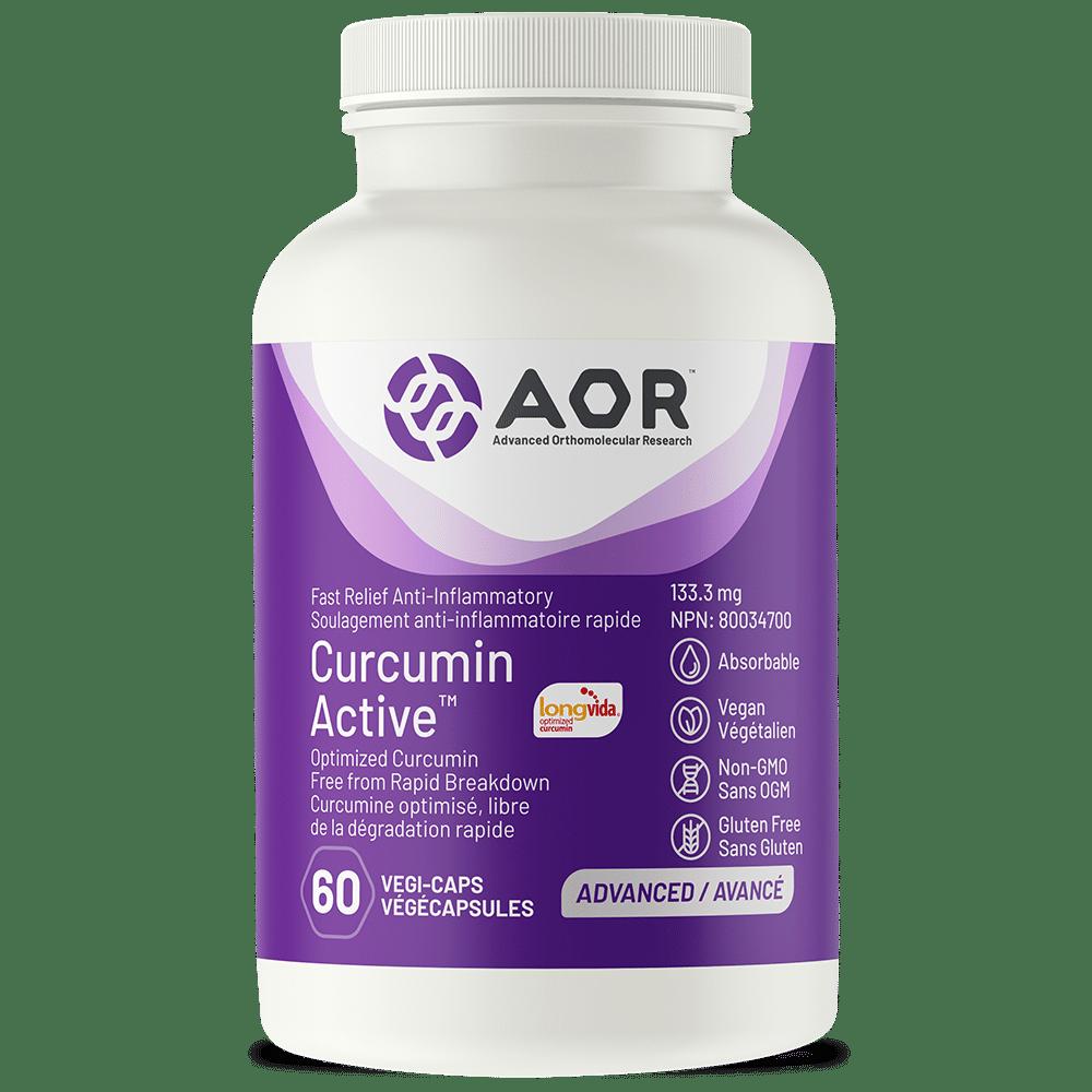 AOR Curcumin Active™ 60 Vegi-Caps | InnerGood.ca | Canada