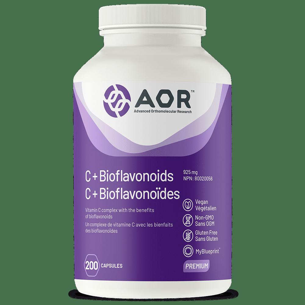 AOR C+ Bioflavonoids 200 Vegi-Caps | InnerGood.ca | Canada