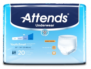 Attends Advanced Underwear - Youth/Small | InnerGood.ca