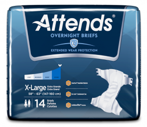 Attends Overnight Briefs - Size: X Large | InnerGood.ca