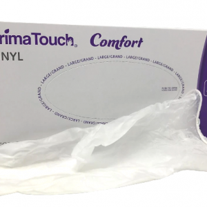Primatouch Comfort PM6-5508 Vinyl Medical Exam Gloves box of 100 Large Canada