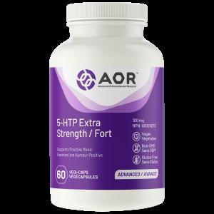 AOR 5-HTP Extra Strength | 60 Vegi-Caps | InnerGood.ca | Canada