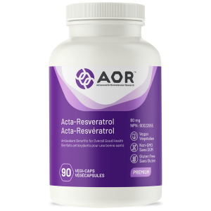 AOR Acta-Resveratrol | 90 Vegi-Caps | InnerGood.ca | Canada