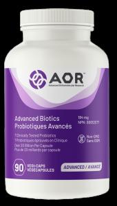 AOR Advanced Biotics | 90 Vegi-Caps | InnerGood.ca | Canada