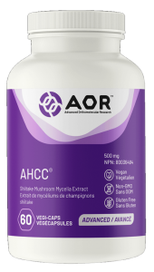 AOR AHCC® | 60 Vegi-Caps | InnerGood.ca | Canada