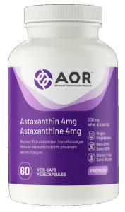 AOR Astaxanthin 4 mg   60 Vegi-Caps   InnerGood.ca   Canada