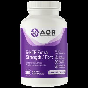 AOR 5-HTP Extra Strength | 90 Vegi-Caps | InnerGood.ca | Canada
