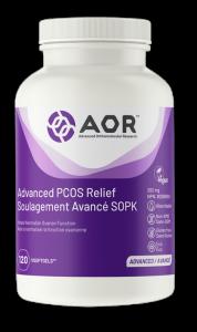 AOR Advanced PCOS Relief   120 VSoftgels   InnerGood.ca   Canada