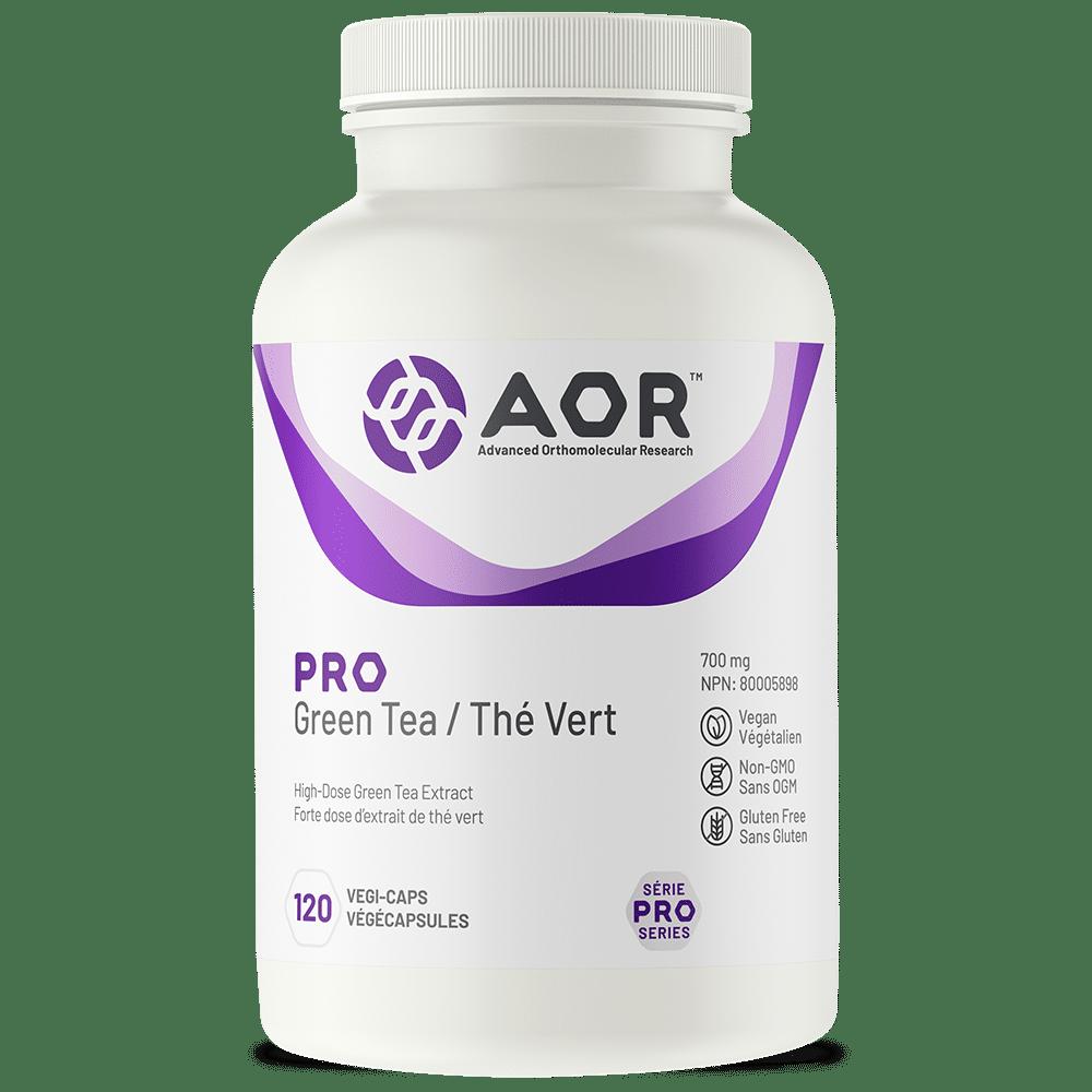 AOR Pro Green Tea | 120 Vegi-Caps | InnerGood.ca | Canada