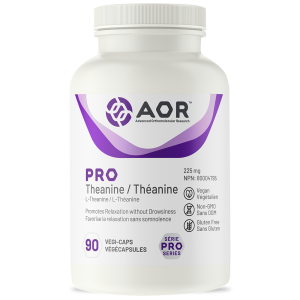 AOR Pro Theanine | 90 Vegi-Caps | InnerGood.ca | Canada