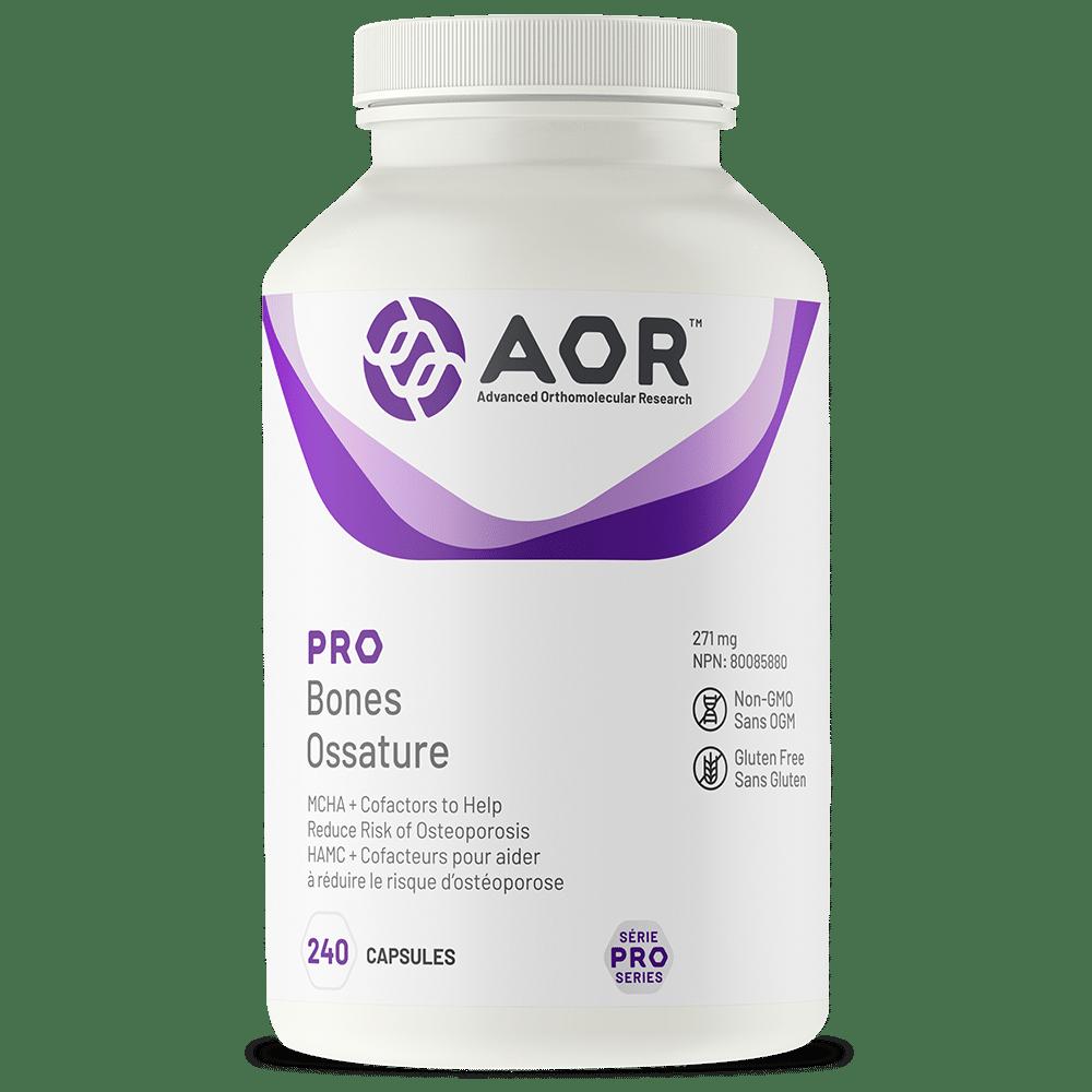AOR Pro Bones | 240 Capsules | InnerGood.ca | Canada