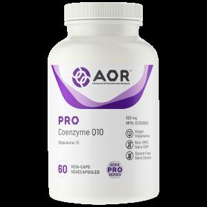 AOR Pro Coenzyme Q10 | 60 Vegi-Capss | InnerGood.ca | Canada