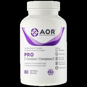 AOR Pro E-Complex | 60 Softgels | InnerGood.ca | Canada