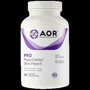 AOR Pro Phase II Detox | 120 Vegi-Caps | InnerGood.ca | Canada