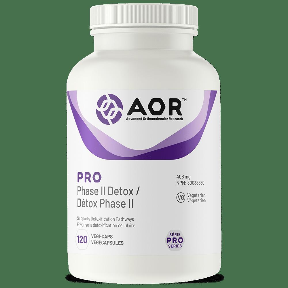 AOR Pro Phase II Detox   120 Vegi-Caps   InnerGood.ca   Canada