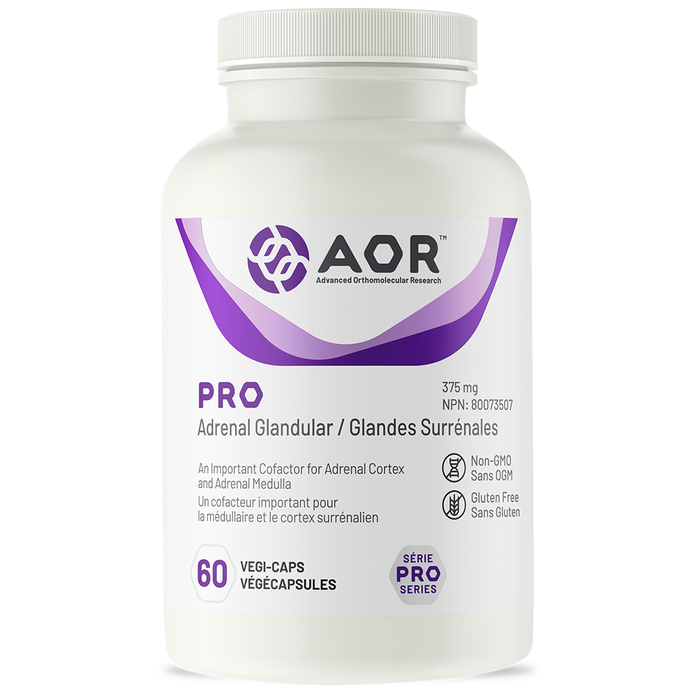 AOR Pro Adrenal Glandular | 60 Vegi-Caps | InnerGood.ca | Canada