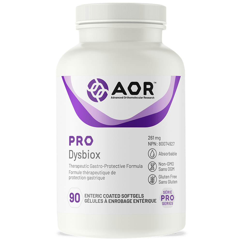 AOR Pro DysbioX | 90 Enteric Coated Softgels | InnerGood.ca | Canada