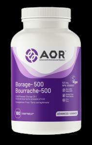 AOR Borage-500   180 VSoftgels   InnerGood.ca   Canada